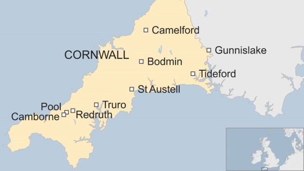 Air Quality Management Areas (AQMAs) in Cornwall